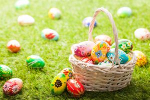 Easter egg hunt image